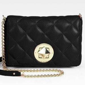 Kate Spade Dove Quilted Leather Chain Crossbody